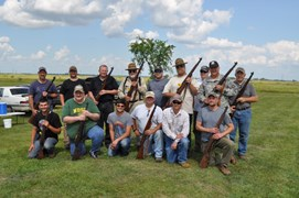Participants of the CMP Garand State Championship (a John C. Garand Match is where you have to use a M1 Garand rifle)