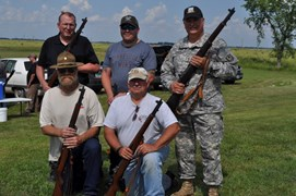 Medal winners of the CMP John C. Garand Match State Championship